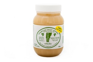 2 lb. Plastic Jar Raw Naturally Crystallized Honey