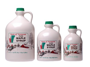 Breadloaf View Farm's Pure Vermont Amber Rich Maple Syrup - 1 Gallon