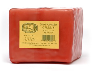 Sugarbush Farm's Sharp Cheddar Cheese - 1 lb.