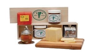 Cheese & Honey Sampler